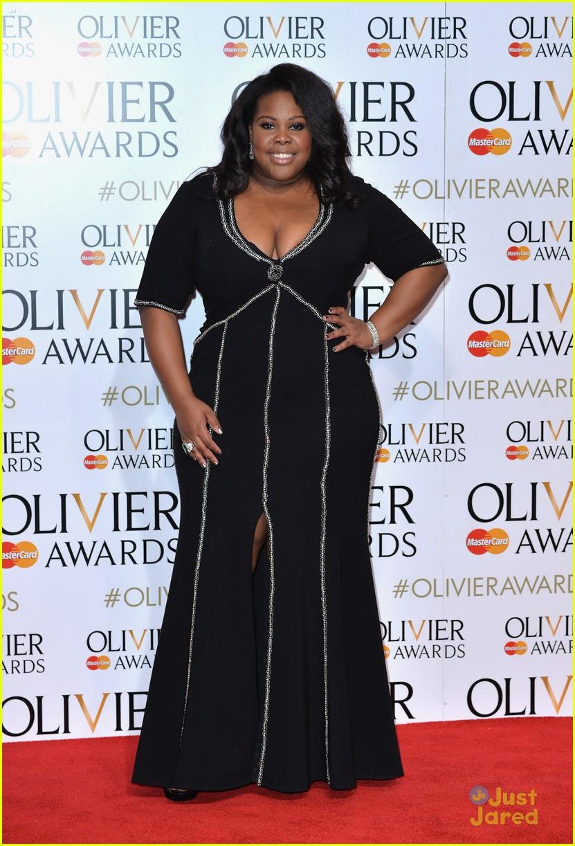 amber riley laura carmichael olivier awards london 01