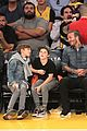 david beckham boys lakers game 43