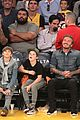 david beckham boys lakers game 44