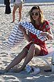 bella thorne hits beach sister dani gregg congrats tweet 02
