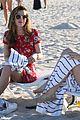 bella thorne hits beach sister dani gregg congrats tweet 10