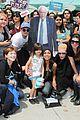 josh hutcherson rosario dawson campaign for bernie sanders 03