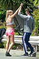 patrick schwarzenegger abby champion weekend workout undying 08