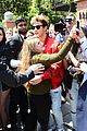 cameron dallas hugs fan before dg show milan 05