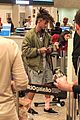 jaden smith arrives brazil luggage scooter 24