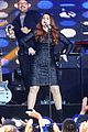 meghan trainor performs jimmy kimmel live pics blessed ig 17