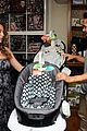 alexa penavega carlos baby items showroom visit 05