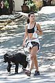 danielle campbell hike with her dogs 42