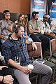 flash cast press rounds comic con before panel 30