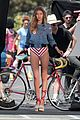 gigi hadid bares her long legs in a one piece swimsuit 06