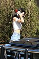kendall jenner heads to the beach for lunch 16
