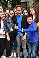 olly murs fan group pics dublin ireland visit 02