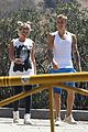 justin bieber sofia richie step out after romatic beach date 06
