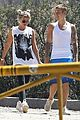 justin bieber sofia richie step out after romatic beach date 18