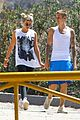justin bieber sofia richie step out after romatic beach date 28