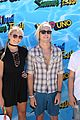 courtney eaton goes swimming with r5 at just jared summer bash 20
