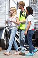 emma roberts pink scrubs queens coffee pickup 07