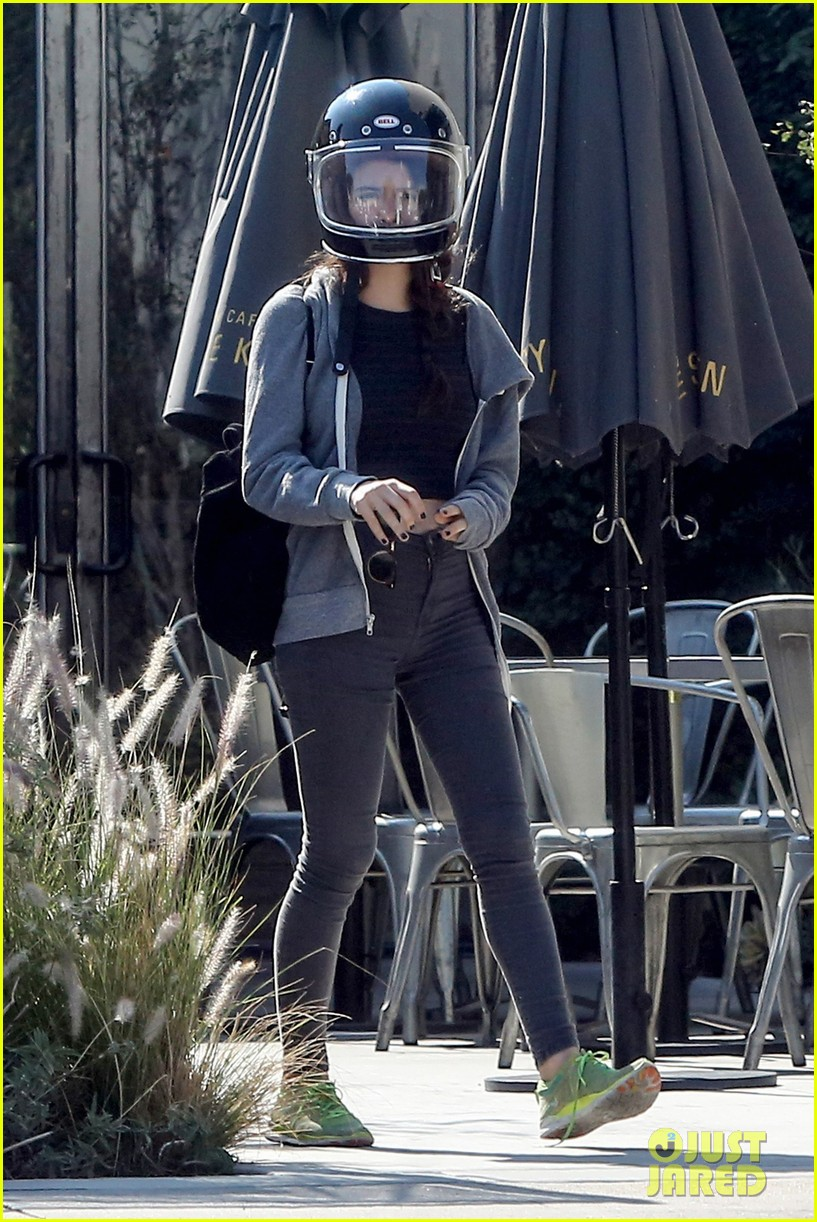 josh hutcherson girlfriend claudia traisac ride around on his motorcycle01310mytext