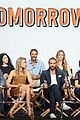tori anderson joshua sasse no tomorrow tca panel party trailer 01