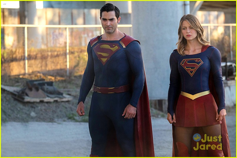 supergirl season 2 premiere photos superman 14