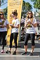ashley tisdale lucy hale more st jude cancer walk 15