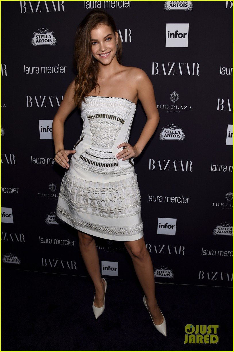 victoria justice peyton list barbara palvin more harpers icons event 14