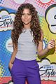 zendaya curly hair goals essence block party 07