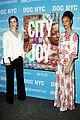 emma watson thandie newton show support city of joy premiere 01