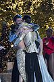 laurie hernandez val chmerkovskiy dwts win final five react 13