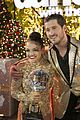 laurie hernandez val chmerkovskiy dwts win final five react 41