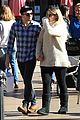 meghan trainor daryl sabara hold hands shopping 06