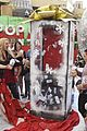 shay mitchell tahj mowry freeform stars pop up santa 18