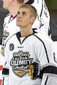 justin bieber gets slammed against glass in nhls all star celebrity shootout3 12
