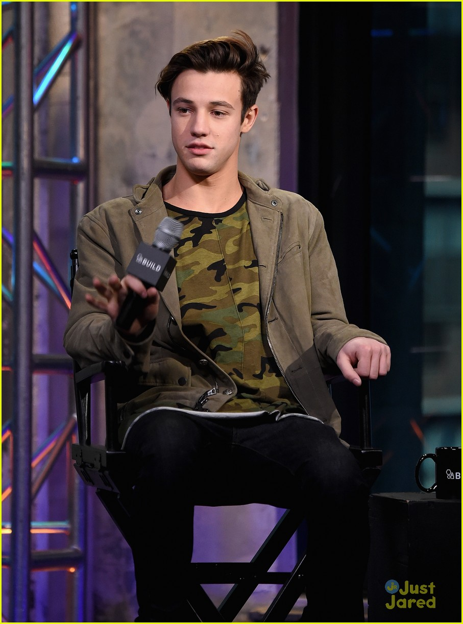 Full Sized Photo Of Cameron Dallas Build Series Appearance Funny