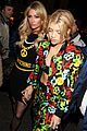 sofia richie paris hilton sit front row at moschino show 02