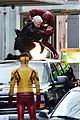 grant gustin the flash filming in vancouver 03