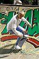 justin bieber skateboarding brazil 01