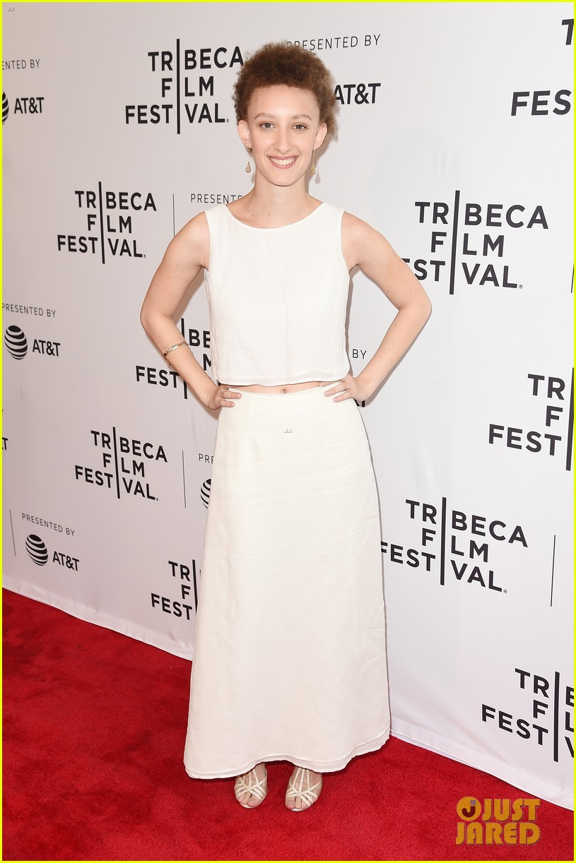 zoey deutch premieres new movie flower at tribeca film festival 04
