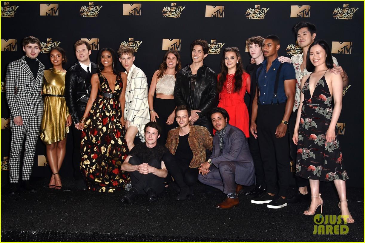alisha boe 13 reasons why full cast mtv awards 05