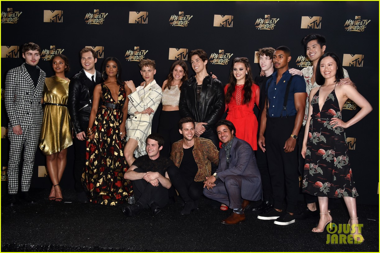 alisha boe 13 reasons why full cast mtv awards 11