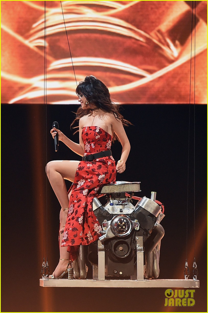 camila cabello is fire at the mtv awards07