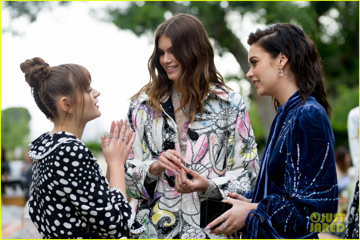 kaia geber marc jacobs daisy fragrance launch 38
