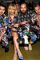 dnce match in out of this world outfits at moschino show 02