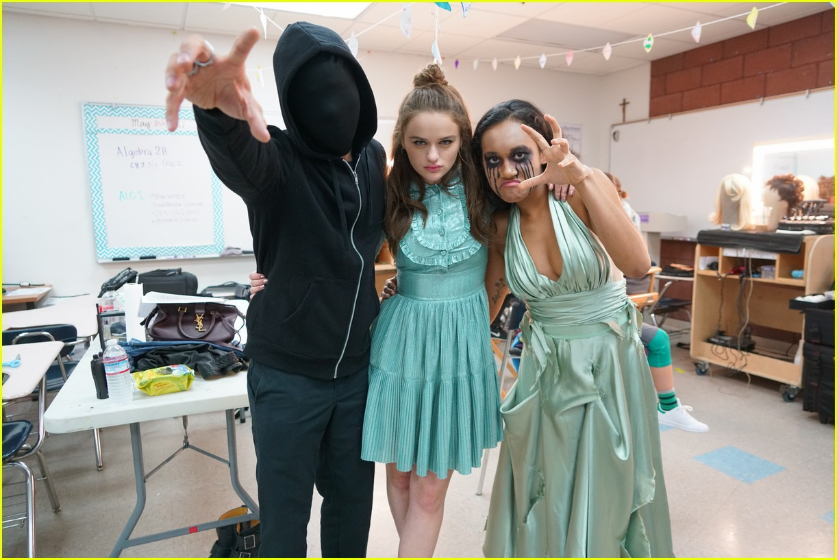 joey king wish upon exclusive bts video 15