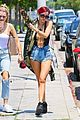 bella thorne leaves little to the imagination in plunging 25