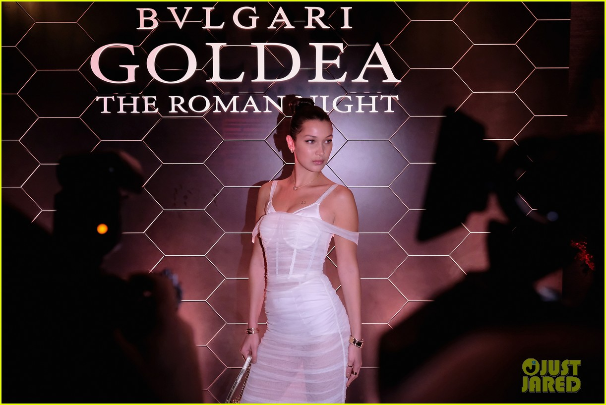 bella hadid stuns at launch of bulgaris new fragrance 12