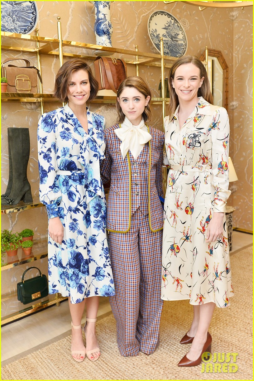 danielle panabaker alisha boe and shannon purser team up for glamour event 17