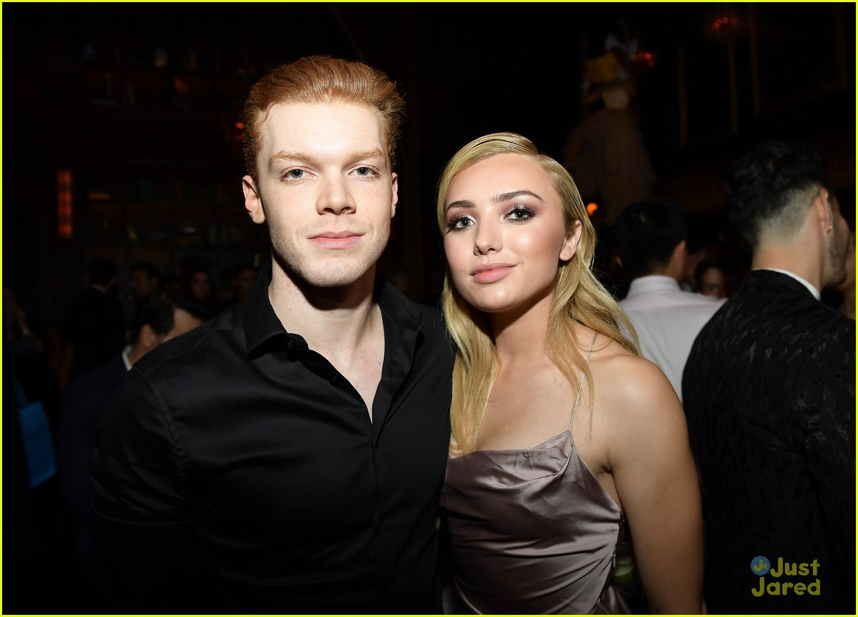 peyton list cameron monaghan streamys date night 02