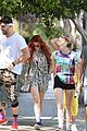 bella thorne goes for sunday hike with sister dani and friends 07
