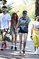 bella thorne goes for sunday hike with sister dani and friends 08